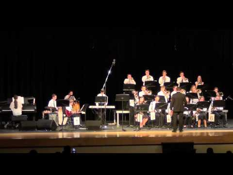 Pennridge Central Middle School Jazz Band at Jazz at Pennridge 3/2/16