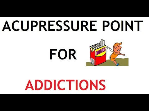 1 Acupressure Point for Addictions (Alcohol and Drugs)