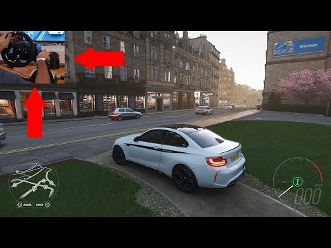 BMW M2 Coupe Forza Horizon 4 Gameplay (Xbox One X + Logitech Wheel G920 + Shifter)