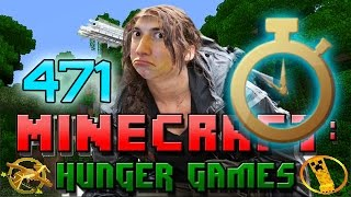Minecraft: Hunger Games w/Mitch! Game 471 - SLOW-MO SHOT THROUGH LEAVES!