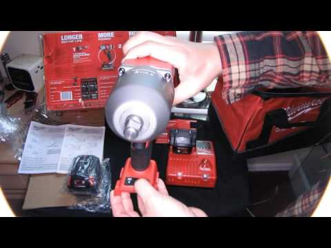 Milwaukee M18 Fuel High Torque Impact Wrench 1100 ft lbs Testing