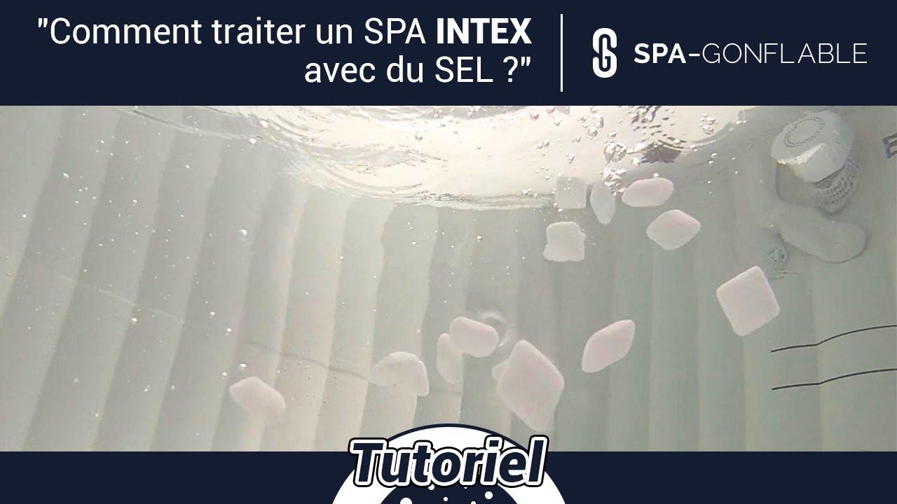 Comment Fonctionne Un Jacuzzi Gonflable comment traiter un spa gonflable avec du sel