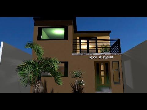 Video casa unipersonal 6x15 doovi for Casa moderna minimalista 6 00 m x 12 50 m 220 m2