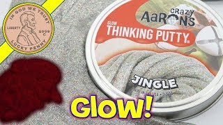 Crazy Aaron's Christmas Jingle Thinking Putty Review - Putty World Limited Edition!
