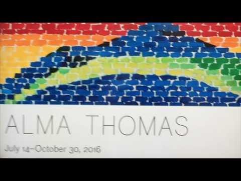 2016 Alma Thomas Show - Studio Museum of Harlem