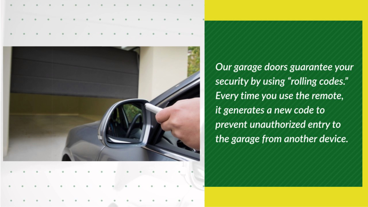 Garage Door Security Obrien Garage Doors Youtube