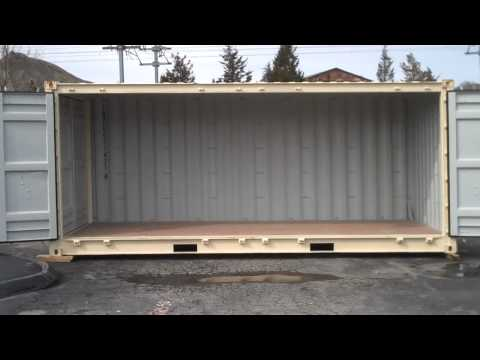 New 20' Open Side Shipping / Storage Container For Sale In Connecticut