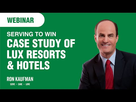 LUX* Resorts & Hotels: The Serving To Win Webinar