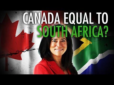 Justice Min. compares Canada to apartheid-era S. Africa