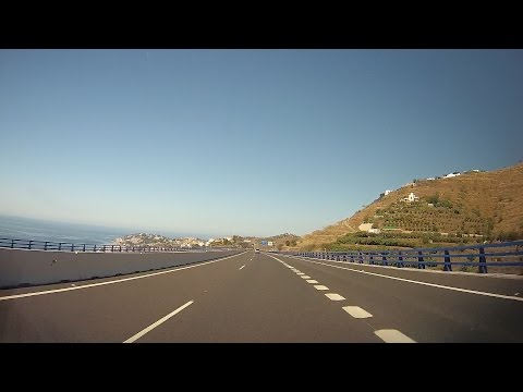 Spain: A-7 Motril - Nerja (Andalusia)