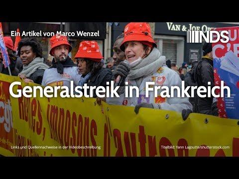 Generalstreik in Frankreich   Marco Wenzel    NachDenkSeiten-Podcast   06.12.2019