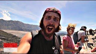 MOUNT BROMO OHNE TOUR - Am Rande eines aktiven Vulkans l Backpacking Java Indonesien #6