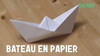 Origami : Bateau En Papier