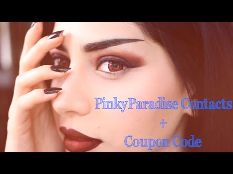 PinkyParadise Contacts + Coupon Code