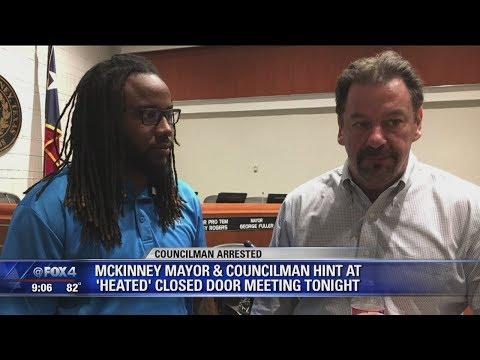 McKinney City Council tables discussion of councilman's arrest