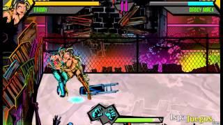 Back Alley Brawl Juego de Peleas y Lucha