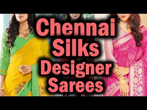 Chennai Silks Diwali Collection 2017 | Designer Sarees With Price