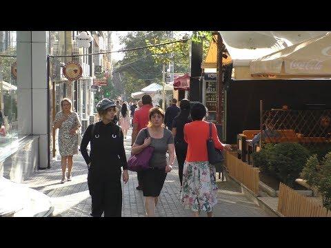 Yerevan, 07.10.18, Su, Video-1, (на рус.) От ул.Абовян до Терьян по пр.Саят Нова.