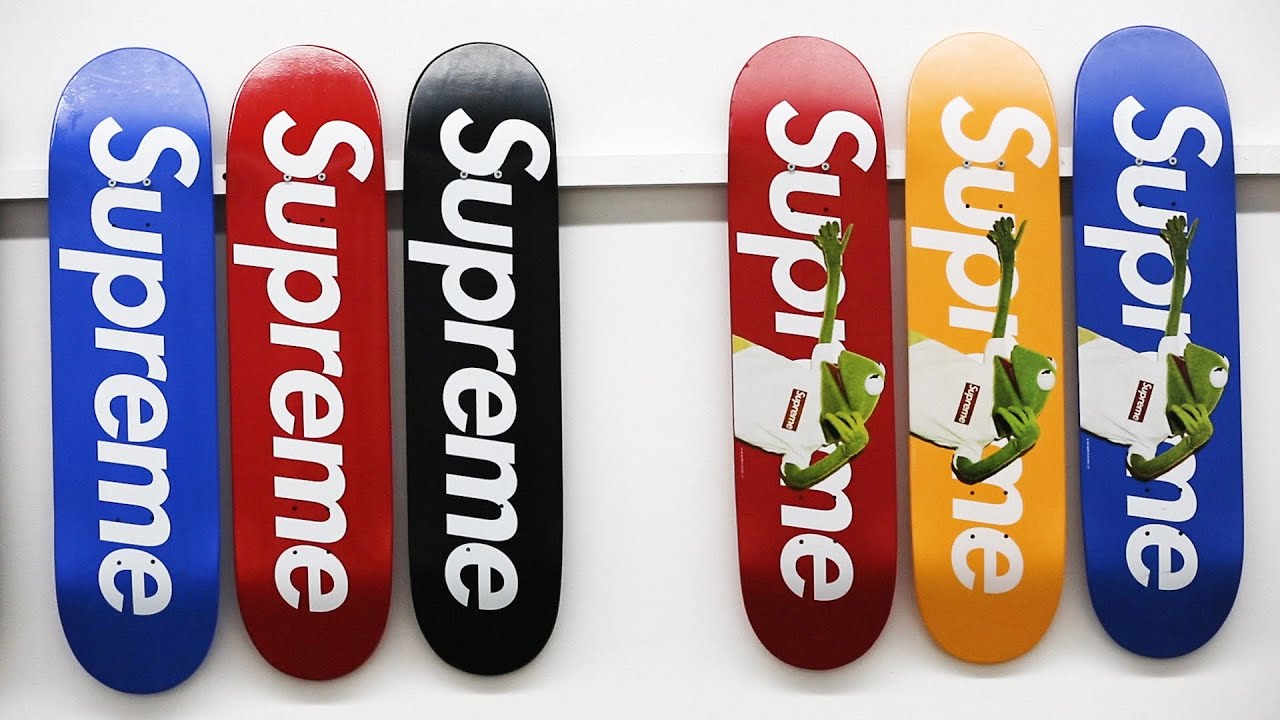 fac5ce2c 248 Supreme skate decks set to sale for as much as $1.2 million