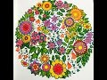 Secret Garden Colouring Book - 7 Colours Only