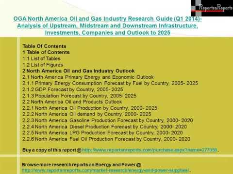 North America Oil and Gas Industry (Q1 2014)- - Market Size, Growth & Forecast to 2025