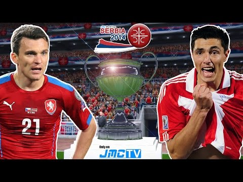 Czech Republic Vs. Paraguay | Final | Jmc World Cup Serbia 2014 | Pro Evolution Soccer 2014