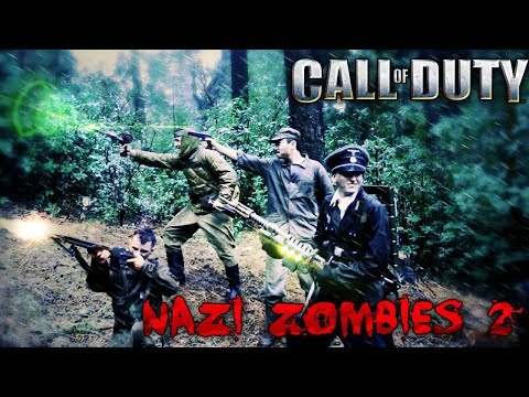 COD Nazi Zombies in Real Life 2 (1/2)