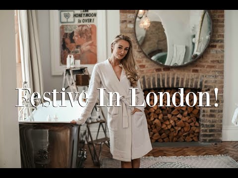 GETTING FESTIVE IN LONDON  // Outfit Diaries  // Fashion Mumblr Weekly Vlog