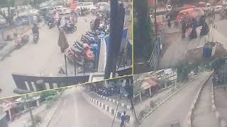 Ini Rekaman CCTV Pelaku Pencurian Motor di Depan Kampus Unismuh Makassar