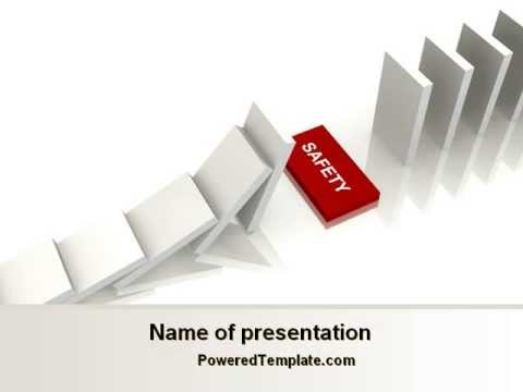 Safety domino theme powerpoint template by poweredtemplatecom youtube for Poweredtemplate