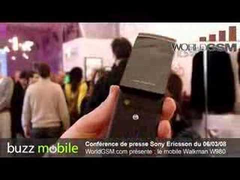 Sony ericsson W980 Walkman WorldGSM