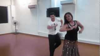 Project Dance Fitness - Chikni Chameli   Couple Impromptu Bollywood Dance