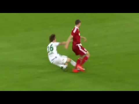 James Lawrence Goal , Rapid Wien 0 2 AS Trencin UEFA Europa League 25 08 2016