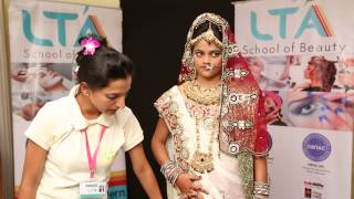 LTA School of Beauty Students creation - Bridal Makeup @ Tech Fest 2013 Thumbnail