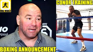 Dana White to make some announcement for BOXING in the next couple of weeks,Conor,UFC 253 Weigh-in