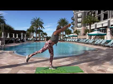 20 minute Barre workout in Destin