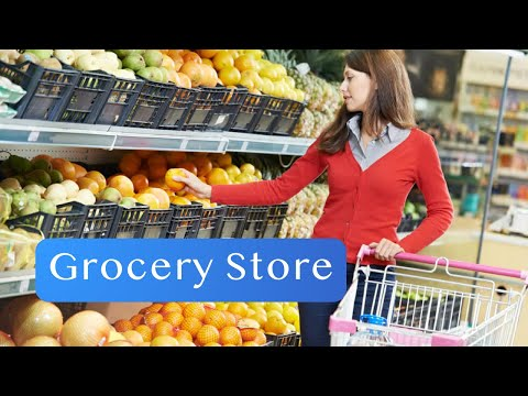 Grocery Store - English Conversation