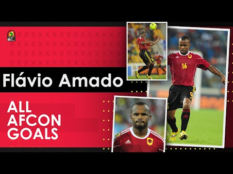 Flávio Amado - Angola | All Total Africa Cup of Nations (AFCON) Goals