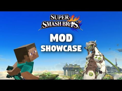 Mr. Krabs, Genji, Daisy, and more! Mod Showcase - Super Smash Bros for Wii U