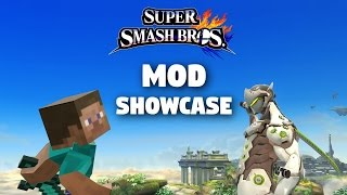 Mr. Krabs, Genji, Daisy, and more! Mod Showcase - Super Smash Bros for Wii U