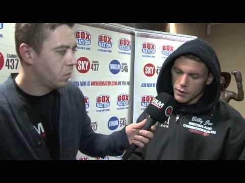BILLY JOE SAUNDERS - 'YOU WILL SEE THE CLASS OF ME AGAINST MATTHEW HALL' / WEIGH-IN INTERVIEW