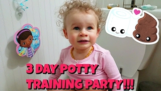 3 DAY POTTY TRAINING - SECOND DAY! 2.11.17 - Day 510