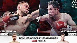 Frampton vs. Donaire | SHOWTIME BOXING INTERNATIONAL Streaming