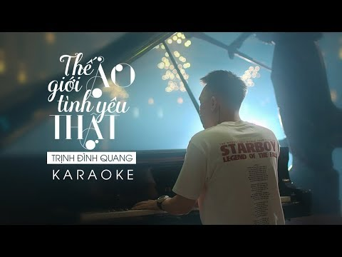 Thế Giới Ảo, Tình Yêu Thật Remake Karaoke