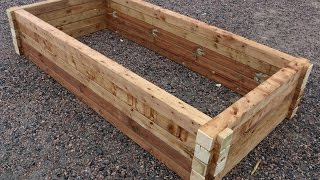 AWESOME Raised Garden Bed