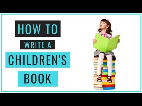 How To Write A Kids Book