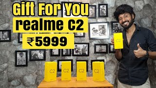 5 Realme C2 Giveaway | Unboxing,First Impression,Hands on,Opinion