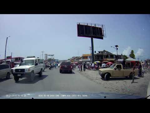 Cayes Haiti Juin 2019 HD VIDEO DASH CAM