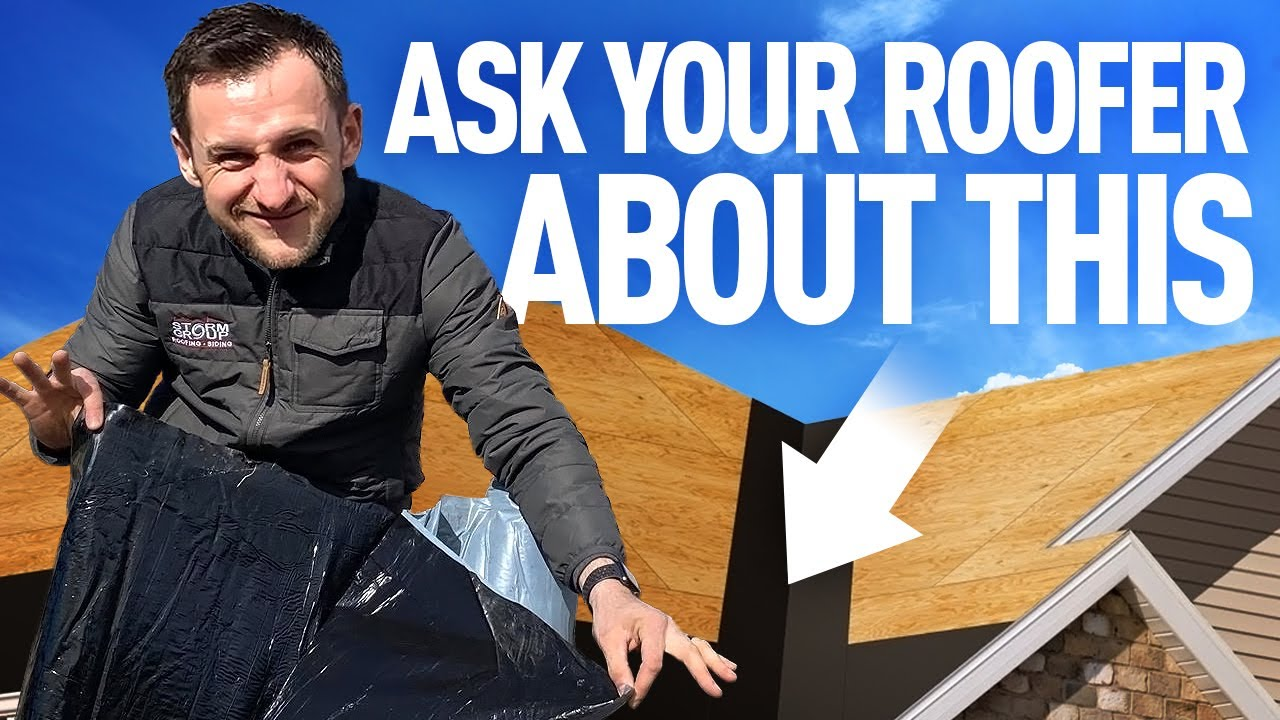ROOFING ICE AND WATER SHIELD  WHAT YOUR ROOFER HIDES FROM YOU