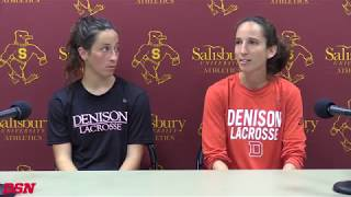 2018 Denison NCAA Women's Lacrosse Press Conference thumbnail